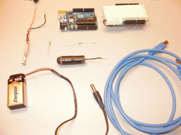 The Arduino Controlled Laser Security System
