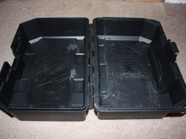 DSLR Camera Case from an Old Toolbox