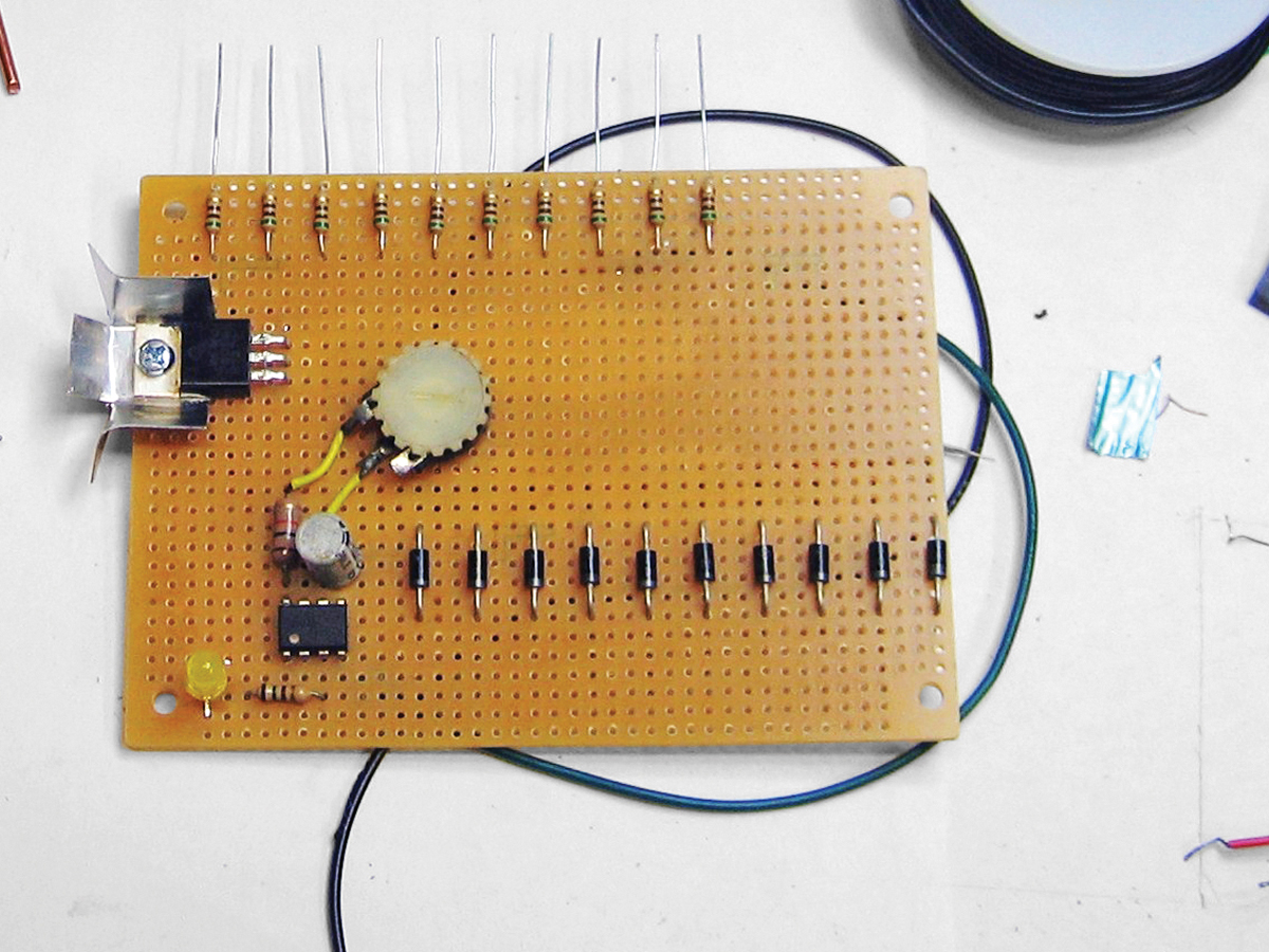 How To Make A Laser Alarm Security Circuit On Breadboard Step By Step