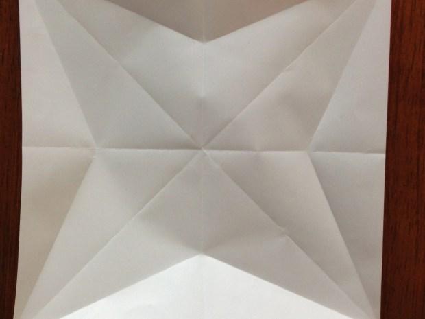 Origami Star & Greeting Card
