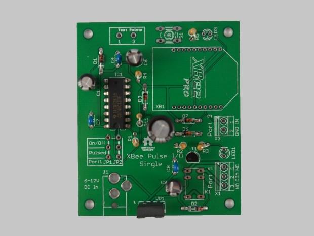 XBee Pulse I/O Single Port Assembly Instructions