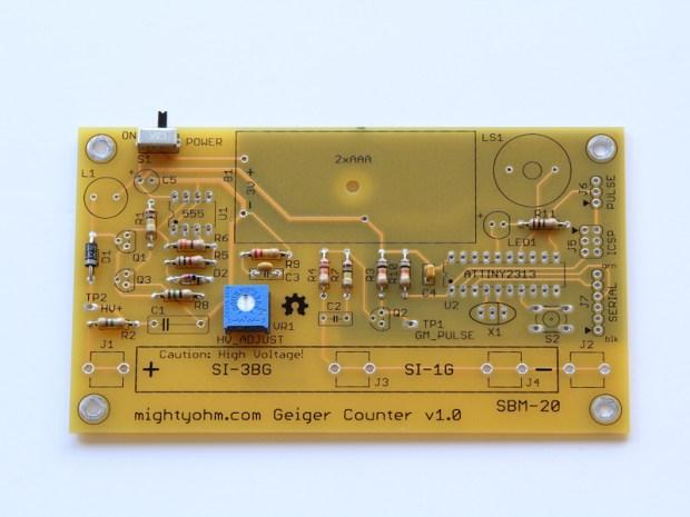 Geiger Counter Kit