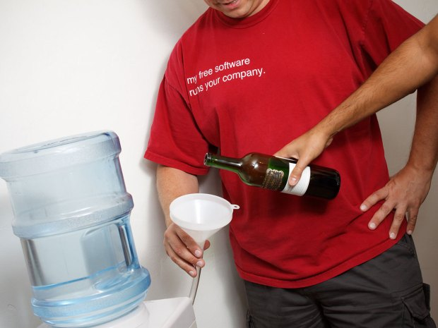 Water-to-Wine Cooler