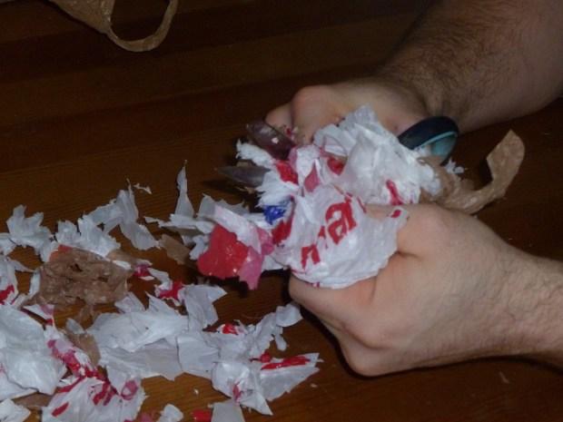 Low-Fume Plastic Bag Forging