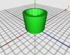 The MakerGear Mosaic 3D Printer – Part VIII: The First Print