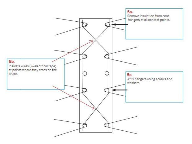 Digital TV Coat Hanger Antenna