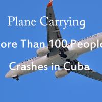 キューバで飛行機墜落