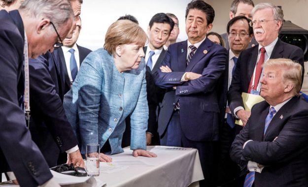 G7サミット・トランプ孤立