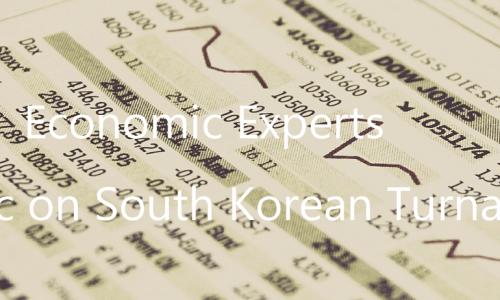 韓国株暴落