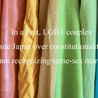 LGBT同性婚の訴訟を起こす