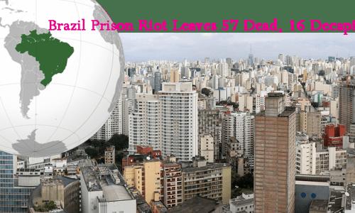 ブラジルの地図と街並み