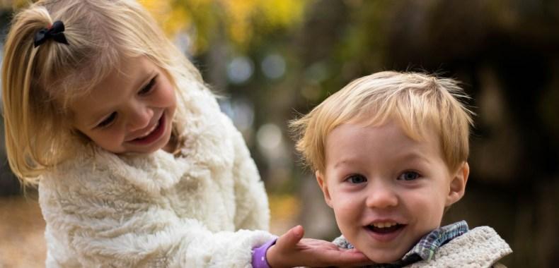 かわいい子供たちの写真