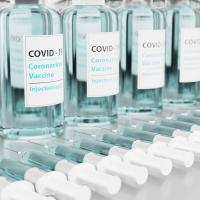 covid19のワクチンの写真