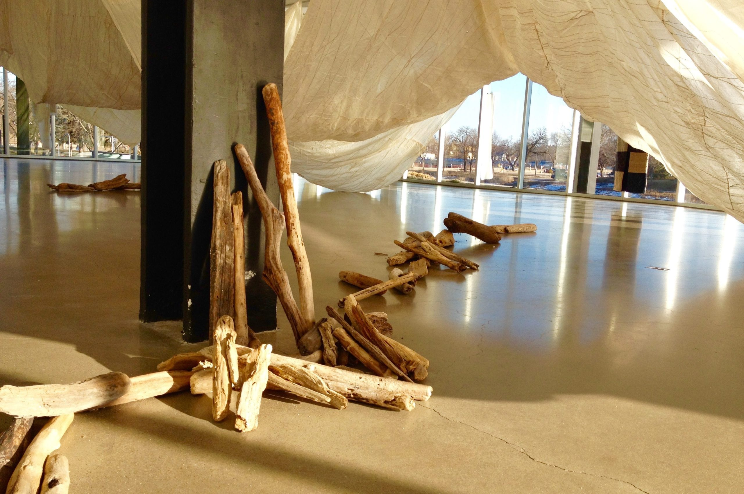 """""""Room of Waves""""at Rochester Art Center"""