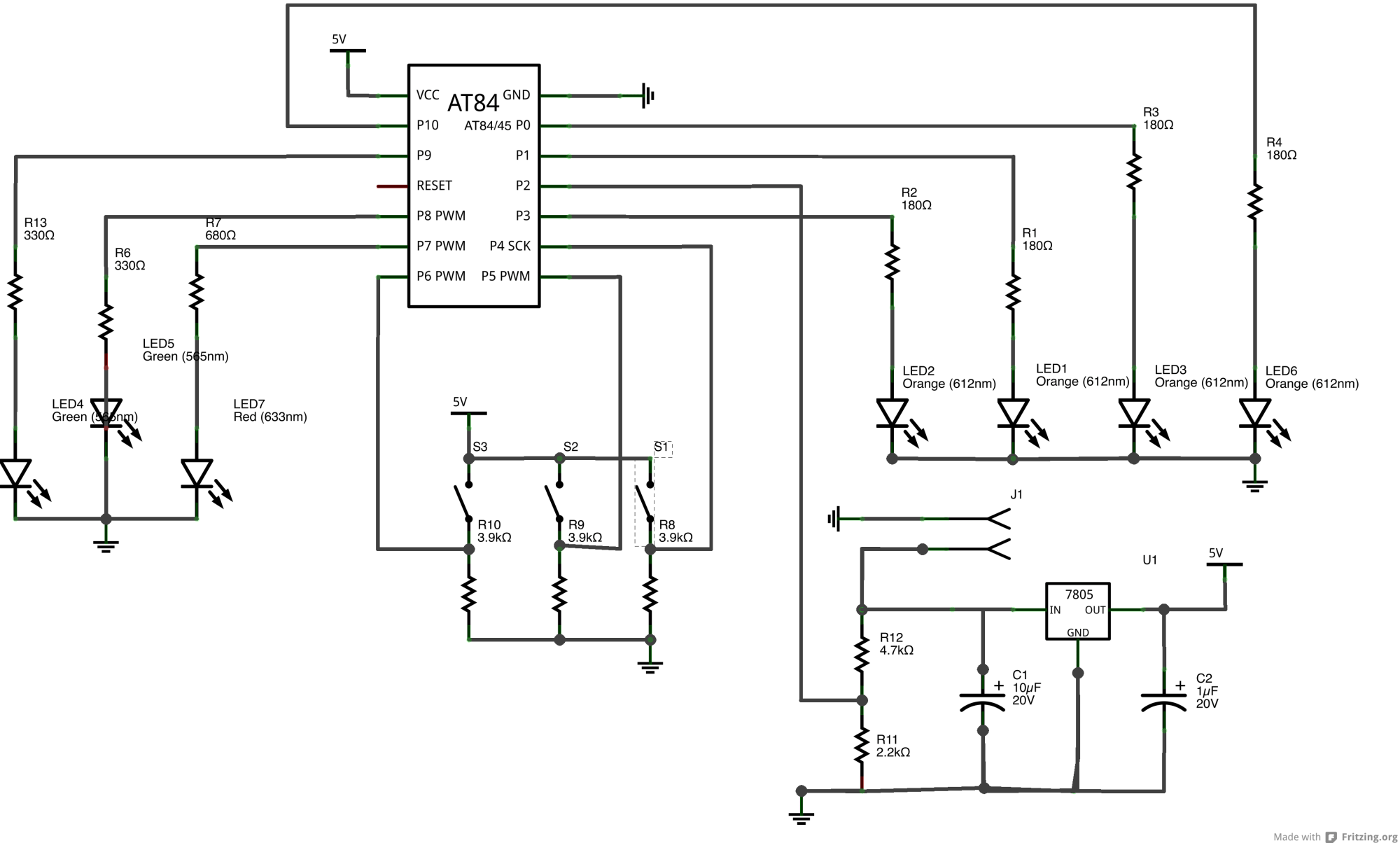 hight resolution of circuit layout strip layout