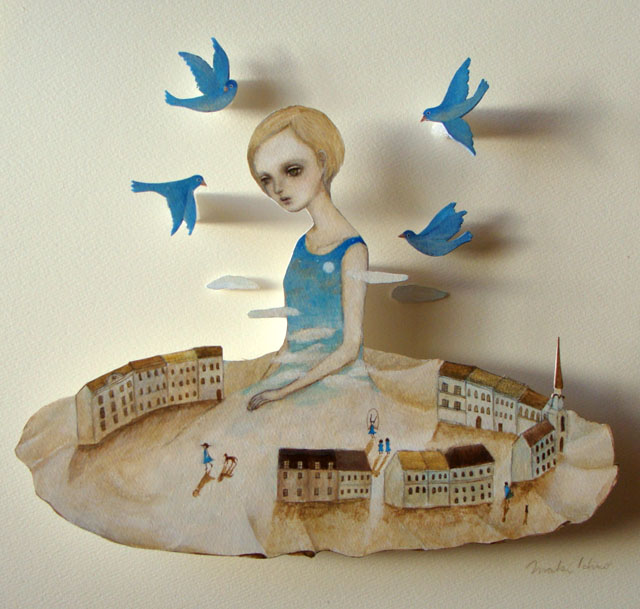 青い鳥の町  Bluebird town  (2013)