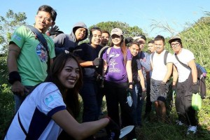Tree planting and nurturing with Panahon TV and UBE