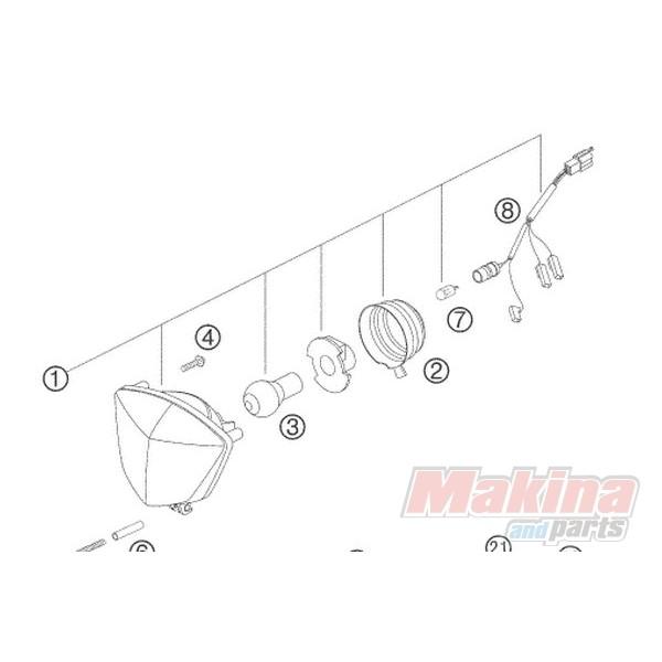 ktm 200 exc wiring diagram