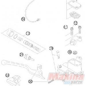 54813008300 Hand Brake Cylinder Repair Kit 9mm Piston KTM