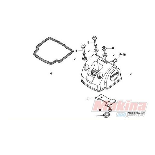 12391MEB670 Gasket Head Cover Honda CRF-450R CRF-450X