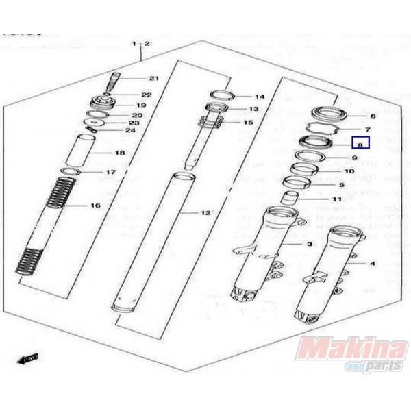 5115327G00 Τσιμούχα Εμπρός Ανάρτησης Suzuki DL-650 V-Strom