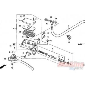 53180MZ1792 Honda Clutch Lever CBR-1100XX CBF1000