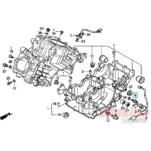 35600KE8003 Διακόπτης Νεκράς Honda CB-CBR-CBF