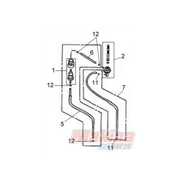 16905ABA000 Fuel Filter SYM Symphony-50-125-150