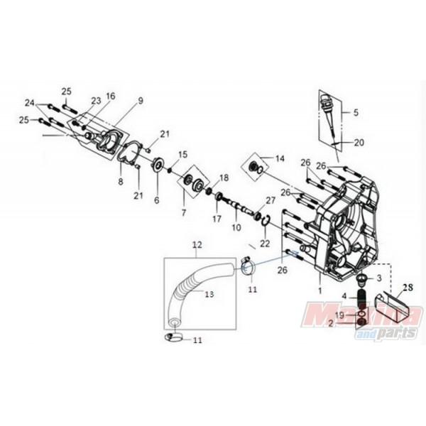 1565AHMA000 Δείκτης Λαδιού Sym GTS-250-300