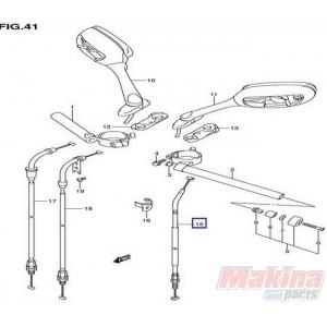 5820001H00 Clutch Cable Suzuki GSXR-600-750 '06-'07