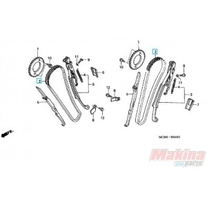 14401MN1671 Camsaft Chain Honda XRV-750 Africa Twin XL