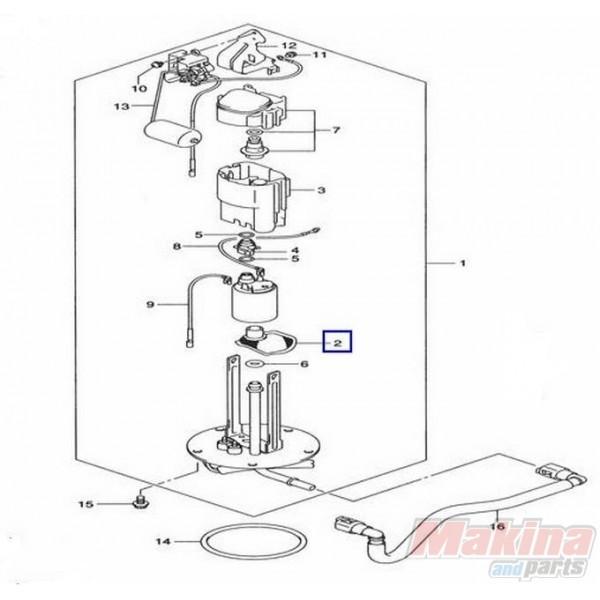 00 suzuki hayabusa fuel pump diagram