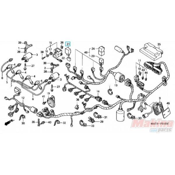 38301KK9952 Ρελέ Φλας Honda CBR-1100XX Blackbird