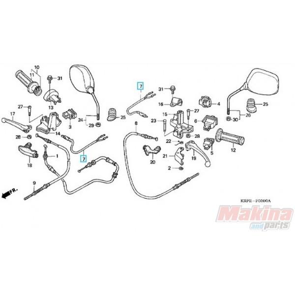 35340KPL900 Brake Lighting Switch Honda SCV-100 Lead