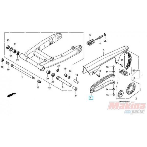 52170MAT000 Slider Chain Honda CBR-1100XX Blackbird