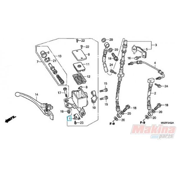 35340MM5600 Διακόπτης Στoπ Εμπρός Φρένου Honda CB-CBF-XLV-XRV