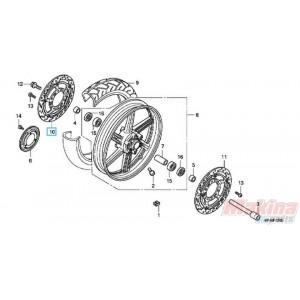 45120MFAD01 Front Right Disk Brake Honda CBF-600-1000
