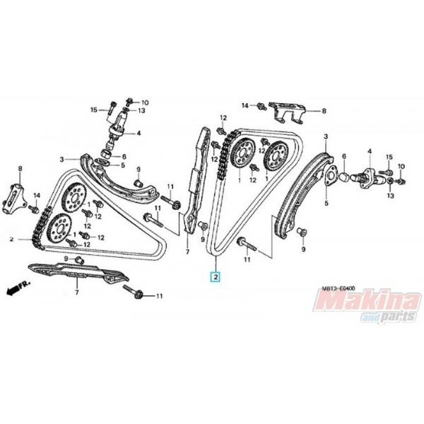 14401MBB003 Camshaft Chain Honda XL-1000V Varadero