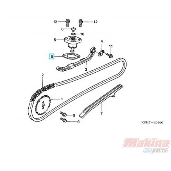 14560KGH900 Gasket Timing Chain Tensioner Honda ANF-125 Innova