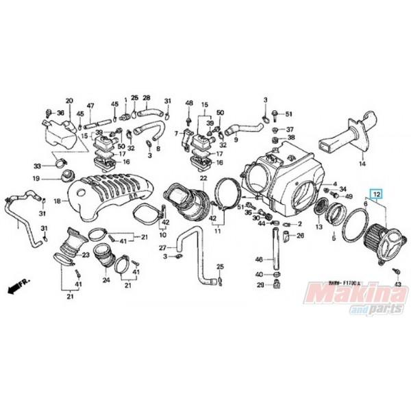 17230MS6920 Φίλτρο Αέρος Honda XL-600V Transalp
