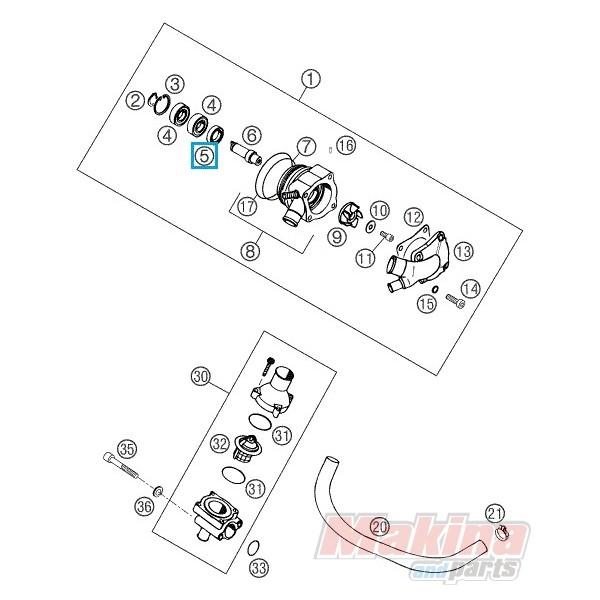 0760152472 Shaft Seal Ring KTM LC4 640