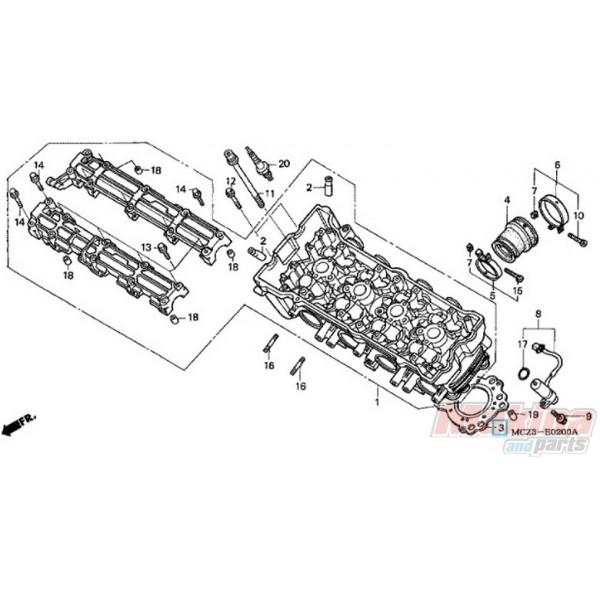 12251MAS003 Cylinder Head Gasket Honda CB-900 Hornet