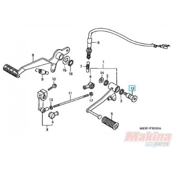 90115KAF000 Bolt Pedal Change Honda CB-CBF-CBR