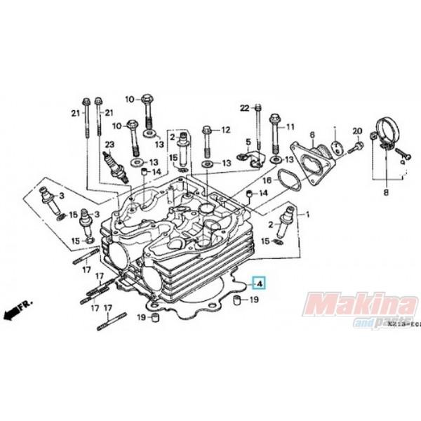 12251KV6003 Cylinder Head Gasket Honda XR-250 '88-'95
