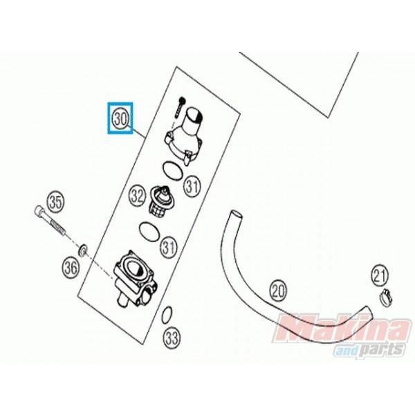 58335013044 Θερμοστάτης Κομπλέ KTM LC4-640 '98-'07