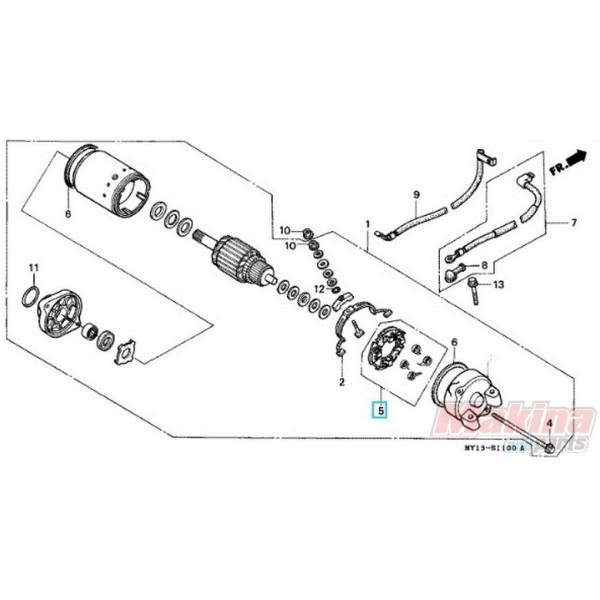 31206MR6008 Βάση Για Καρβουνάκια Μίζας Honda XLV-XRV-CBF
