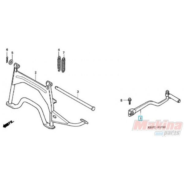 28300KPL900 Arm Assy. Kick Starter Honda SCV-100 Lead