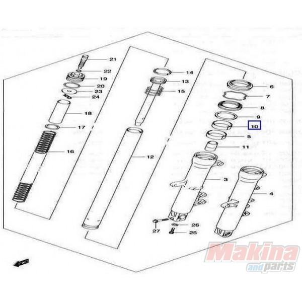 5115213E00 Κουζινέτο Εμπρός Ανάρτησης Suzuki DL-650 V-Strom
