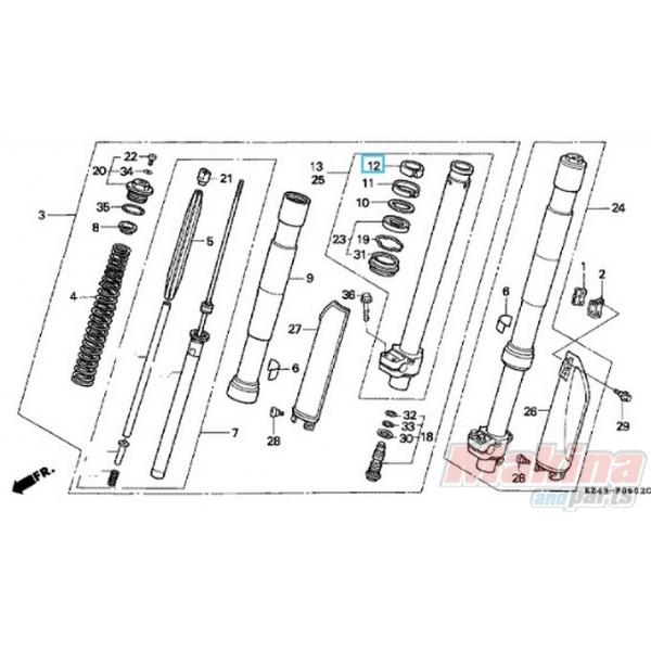 51415ML3791 Κουζινέτο Εμπρός Ανάρτησης Honda CR-250-500