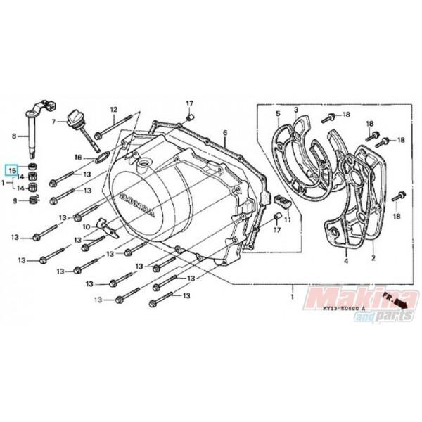 91204KK0003 Τσιμούχα Μοχλού Συμπλέκτη Honda CBF-CBR-XLV-XRV